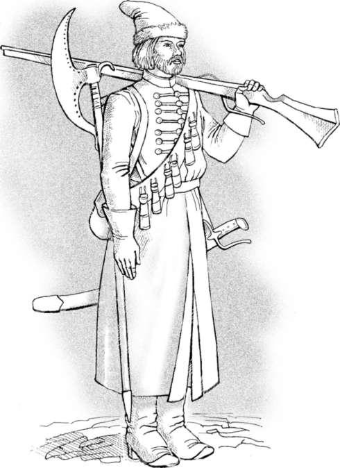 Антикварный рисунок софья со стрельцами купить